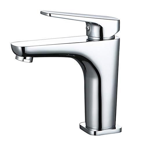 Spoelbak Gehele Basin Brons Messing Hete en Koude Mixer Toilet Enkele Handvat Enkele Gat Shampoo Was Gezicht Neem Een Badkamer Kraan Groenten