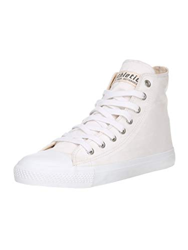 Ethletic Unisex Sneaker Hi Fair Trainer White Cap just White | just White 41 Fair | Vegan | Nachhaltig