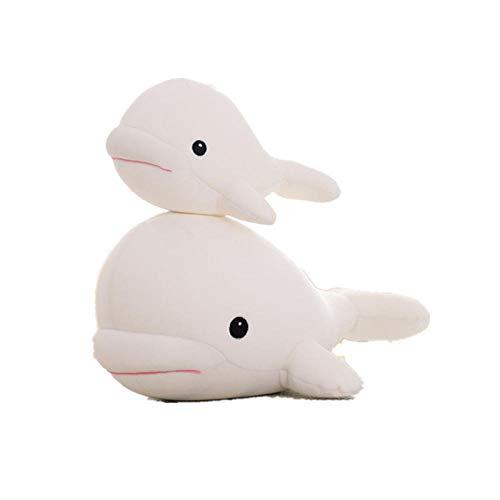 Pluche Schattige Huisdier Beluga Knuffel Dolfijn Pop Lappenpop-Beluga_60cm