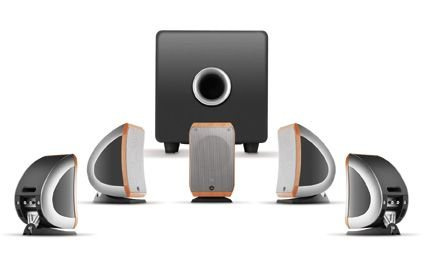 Focal SIB - Lautsprecher (2.0 Kanäle, Verkabelt, 75 W, 75 - 20000 Hz, 8 Ohm, Schwarz)