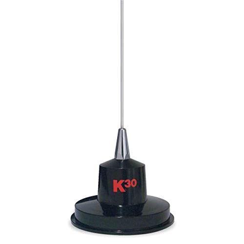 "K40 Model K-30 35"" Magnet Mount Stainless Steel CB Antenna, 300 Watts"