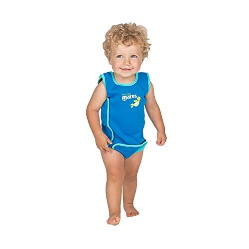Mares Baby Wrap Kinder-Schwimmhilfe Schwimmanzug (blau, L (18-24 Months))