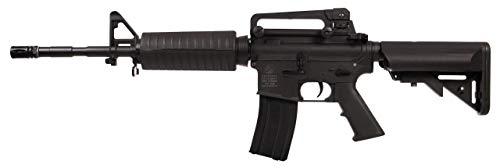 Colt Airsoft M4 Carbine AEG 180860 Cybergun Nylon Fiber/Colore Nero/Elettrico (0,5 Joule) -Semi/Full Automatic