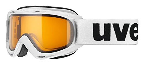 uvex Unisex Jugend, slider LGL Skibrille, white, one size