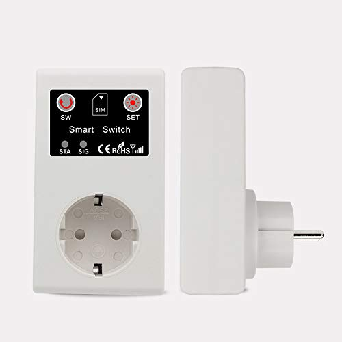 GSM Intelligent Power Socket Llame a SMS APP Control remoto Switch Pump Router Electric Appliance Intelligent Sockets