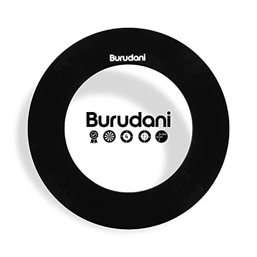 Burudani Dart Auffangring   NEU: Modell 2021 mit Abstandhalter   Hochwertiger Dart Surround Wandschutz   Ideale Passform für alle Standard Dartscheiben