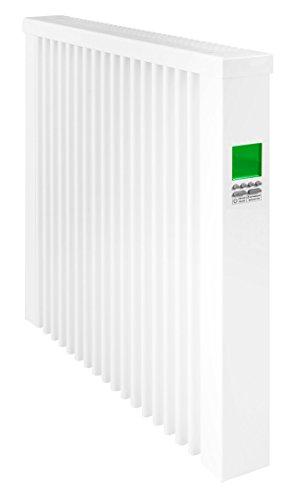 Radiador eléctrico AeroFlow con termostato digital programable Compacto 1300 Watt