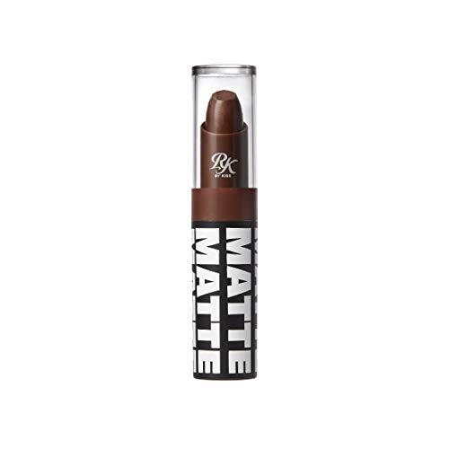 Ruby Kisses Matte Lipstick, 0.12 Ounce (ESPRESSO)