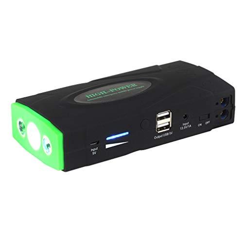 WXZQ Arrancador de Salto de Coche de Tres Luces USB Dual con Martillo de Seguridad Cargador de Emergencia multifunción Dispositivo de Arranque de batería 38000