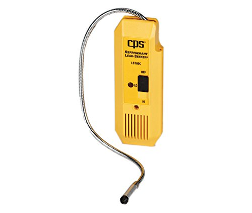 CPS Products CPSLS780C Refrigerant Leak Detector (with Flexible Probe, 3 Position Switch, LED Display, Audible Alarm)