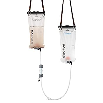 Salado Outdoors Neptune Pro Backpacking Water Filtration System - 12L Capacity - Modular & Portable Gravity-Fed Emergency/Survival/Camping/Backpacking System