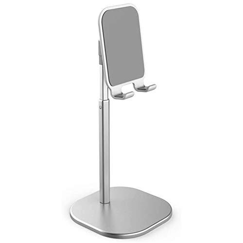 GEEKEN Soporte para TeléFono Celular, Soporte para Tableta, Soporte Universal de Aluminio de MúLtiples áNgulos, Soporte Ajustable para en Pulgadas