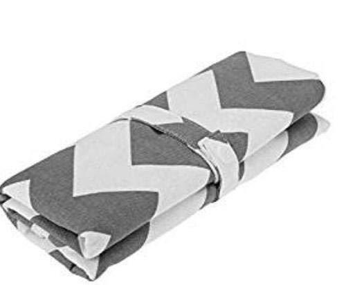 Chilits 1 paquete de cambiador de pañales para bebé, plegable, portátil, cambiador de pañales, impermeable, forro para cama infantil, almohadillas para viajes en casa, al aire libre
