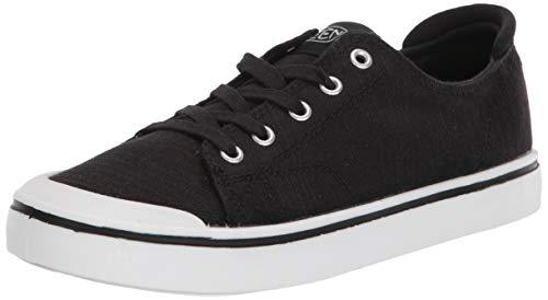 KEEN Women's ELSA IV Sneaker, Black, 9.5