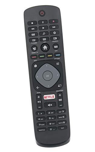ALLIMITY Fernbedienung Ersetzen fit für Philips UHD TV 43PUS6101/12 43PUS6101 43PUS6162/12 43PUS6162 43PUS6201 43PUS6201/12 43PUS6523/12 43PUT6101 43PUT6101/12 43PUT6101/60