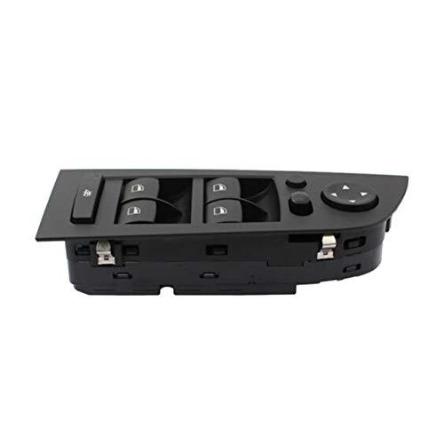 ZHENGYI El Interruptor de Control de la Ventana del Lado del Conductor del Coche se Adapta a BMW (Color : Black)