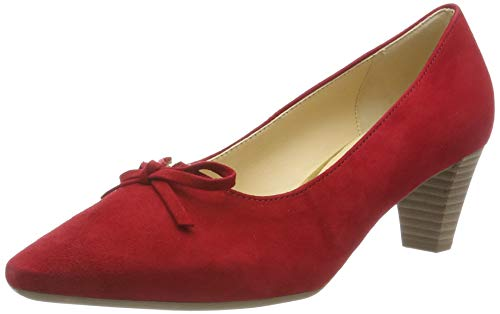 Gabor Shoes Damen Basic Pumps, Rot (Rubin 15), 43 EU