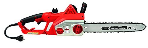 Grizzly Tools Elektro-Kettensäge EKS 2240-3 QTX - 2200W, 460mm Schwertlänge, Oregon Kette und Schwert, Langlebiges Metallgetriebe