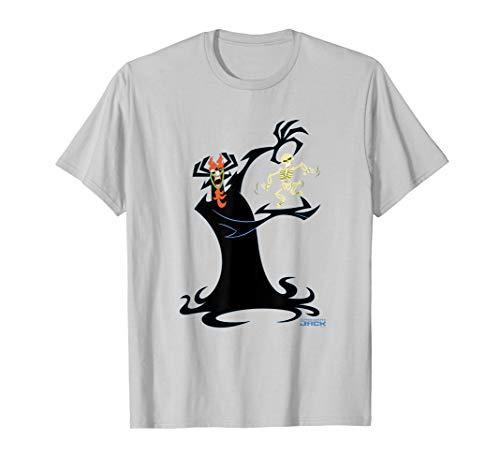 Adult Swim Samurai Jack Halloween Skeleton T-Shirt