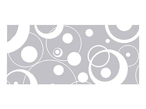 GRAZDesign Aufkleber Dusche, Fensterfolie, Sichtschutz Badezimmer WC Bad Duschtür Retro / 89x40cm