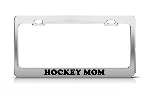 hockey mom license plate frame - 3