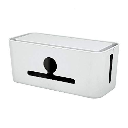 JFHGNJ Eenvoudige koeling voeding plug-in-board oplader stopcontact opbergdoos grote kabelbox