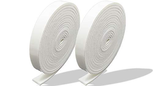 プランプ オリジナル 隙間テープ スキマッチ 白 ホワイト 厚 2 mm×幅 10 mm × 長 2 m 2個入 日本製 ゴムスポンジ 防水 防音 すきま 窓 玄関 引き戸 隙間