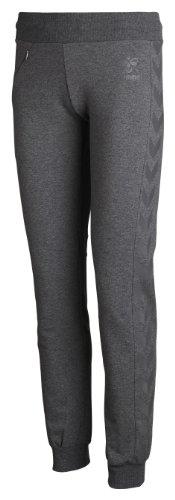 Hummel Classic Bee Womens Tech Pants, Dark Grey Melange, M, 39-720-2008