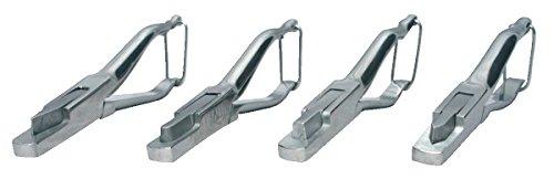 horizont Kerbzange: Zange für Prüfplaketten im Taschenformat - rechteckiger Ausschnitt der Lochzange für Prüfplaketten