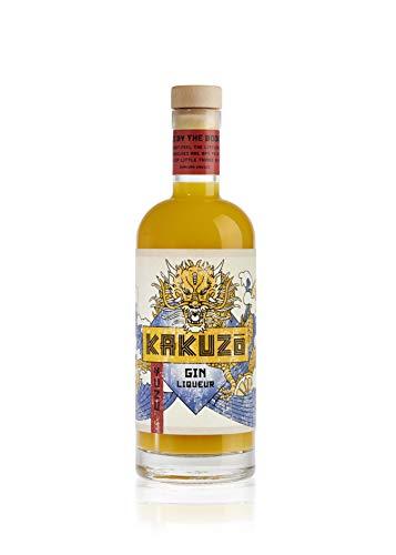 KAKUZO® Yuzu Gin Liqueur - Japanische Gin-Kreation - Verfeinert mit Kalamansi & Mandarine - Sauer & Süß mit Leichter Bitter-Note - Ideales Geschenk - Made in Germany (1 x 0,7l)