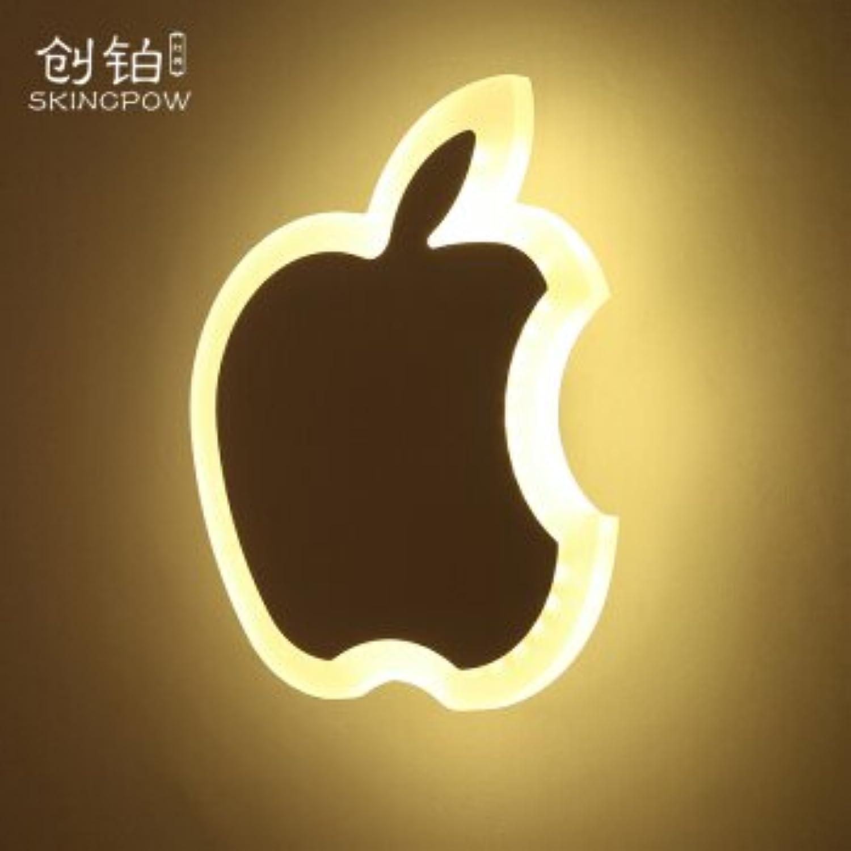 StiefelU LED Eine Platin-LED Wandleuchte Schlafzimmer Nachttischlampe im Flur Eingang Strae hat ultra-dünne dekorative Lampen Bltter 9 W, Apple 11 W