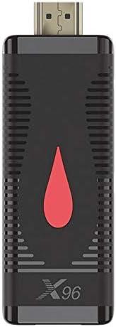 Tiamu Android 10.0 TV Stick Allwinner H313 Quad Core WiFi Media Player X96 S400 8/16G ROM 4K TV Box Dongle 1G+8G US Plug