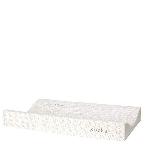Koeka - Wickelauflage - Wickeltischauflage - Time To Change - Baby Wickelunterlage Für Wickeltisch - Erhöhte Ränder - Sand - 72 X 44 X 9 Cm