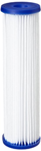 Pentair Pentek R30-20BB Big Blue Sediment Water Filter, 20-Inch, Whole House Pleated Polyester Filter Cartridge, 20' x 4.5', 30 Micron