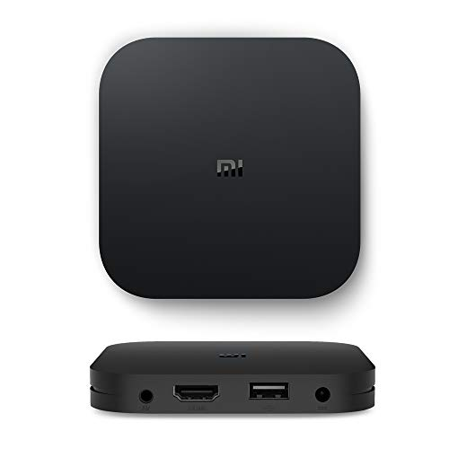 Mi TV Box S 4K Ultra HD Streaming Media Player Android 8.1 Schnelle stabile drahtlose Verbindung Premium Audio Global Version