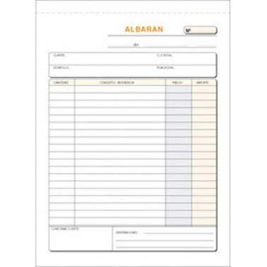 Talonario Albaranes 145x207 T122 Triplicado autocopia (50 juegos) (5 ud.)