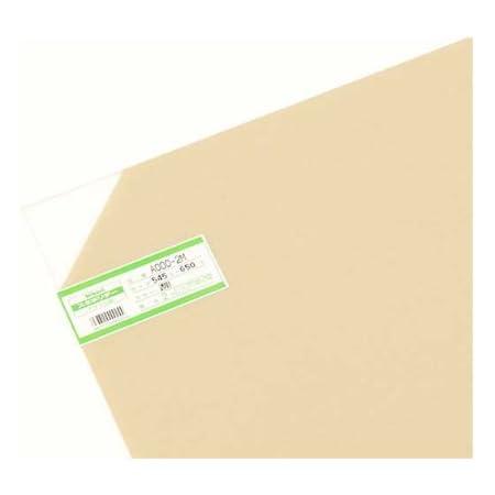 光 スミホリデー アクリル板 透明 2×545×650mm A000-2M