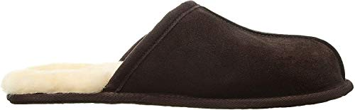 UGG Male Scuff Slipper, Espresso, 8 (UK) 42 EU