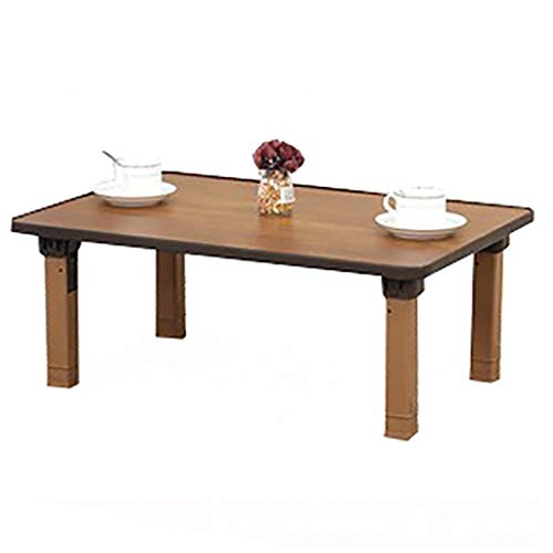 Klapptisch, Heimat, Koreanischer Esstisch/Rechteckiger Tisch/Kang-Tisch /-Studientisch, Geeignet Für Tatami/Bay-Fenster/Tee-Haus (Size : 60 * 40cm)