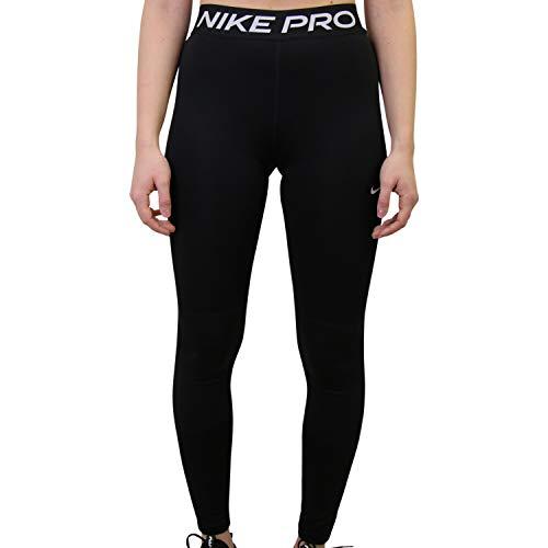 Nike Girls Pro Tights, Black/White, 152