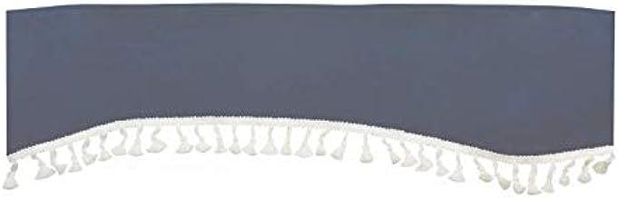 Franges de cabine 240*18cm gris