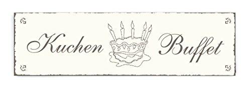 IB Laursen « tartas Buffet » INTERLUXE–cartel de madera decorativa, decoración Home...