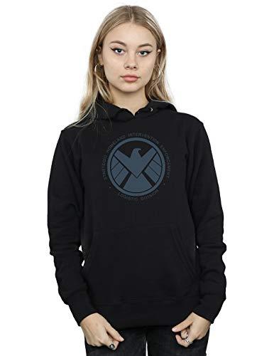 Marvel Damen Agents of S.H.I.E.L.D. Logistics Division Kapuzenpullover Schwarz Medium