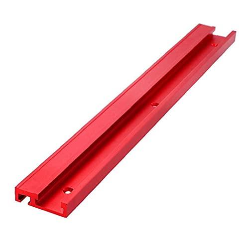 T-Track T-Slot Guía Mitre Pista aleación de aluminio de 45 Tipo de sierra de calar Router Straight Edge herramienta para trabajar la madera DIY, Otras herramientas de mano