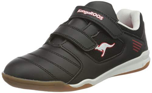 KangaROOS Unisex Miyard V Sneaker, Jet Black/White 5012, 37 EU