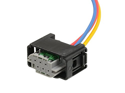 Michigan Motorsports 3 wire Height Sensor Connector Harness Pigtail for Land Rover Replaces YMQ503220