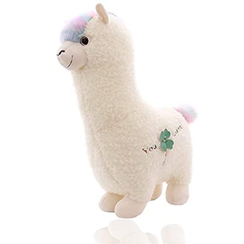 MRSM Cartoon Toys Cute Alpaca Doll,Alpaca Plush Toy 70 cm/27.56in Llama Stuffed Animal Large Doll Plushie Hug Pillow Soft Fluffy Cushion Super Kawaii Gift Washable