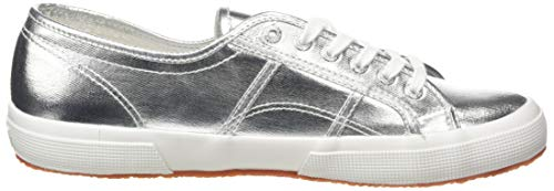 Superga 2750 Cotmetu, Unisex Adults' Low-Top Sneakers, Silver, 6 UK (39.5 EU)