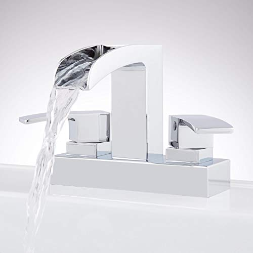 Signature Hardware 937005 Stevens 0.87 GPM Centerset Bathroom Faucet with Pop-Up Drain Assembly