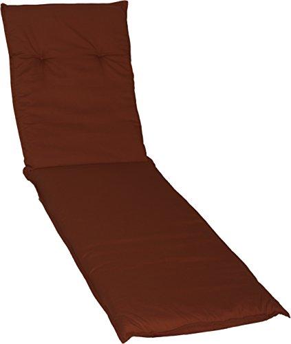 Beo AU47 Barcelona LI - Cojín para tumbonas de Exterior, Color Rojo